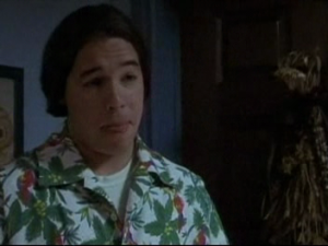 The Hawaiian shirt should have been a dead giveaway.